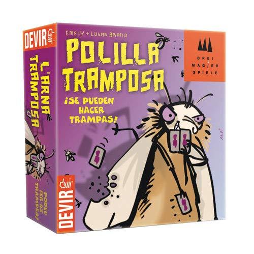 Juegos de cartas - Juego Polilla Tramposa