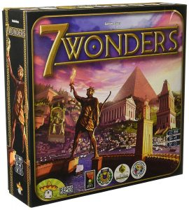 Los mejores juegos de mesa del mundo - juego de mesa 7 wonders