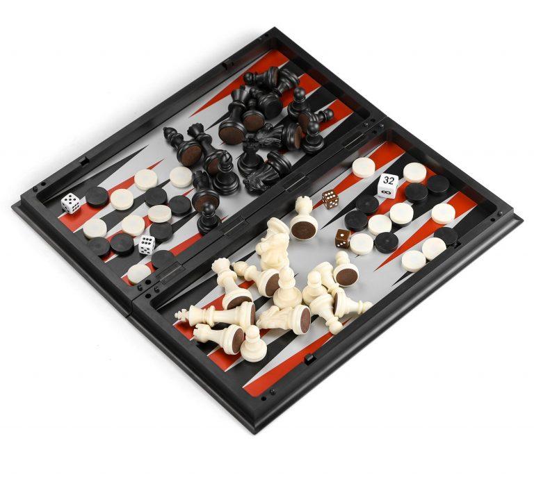 Juegos de mesa de viaje - Juegos de mesa de bolsillo - Juego de mesa de viaje Ajedrez