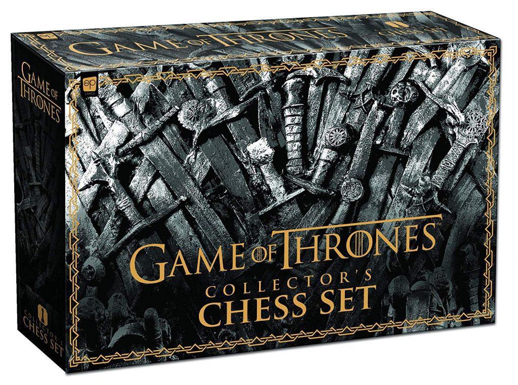 Juegos de mesa de juego de tronos - Ajedrez de Juego de Tronos