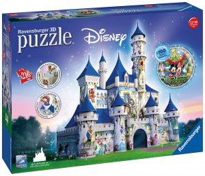 Castillo de Disney Puzzle en 3D