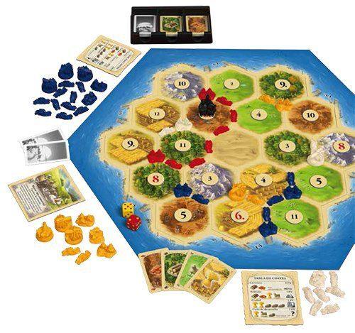 Los mejores juegos de mesa del mundo - juego de mesa Catan tablero