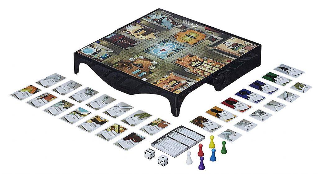 Juego de mesa de bolsillo y de viajes - juego de Cluedo de bolsillo tablero