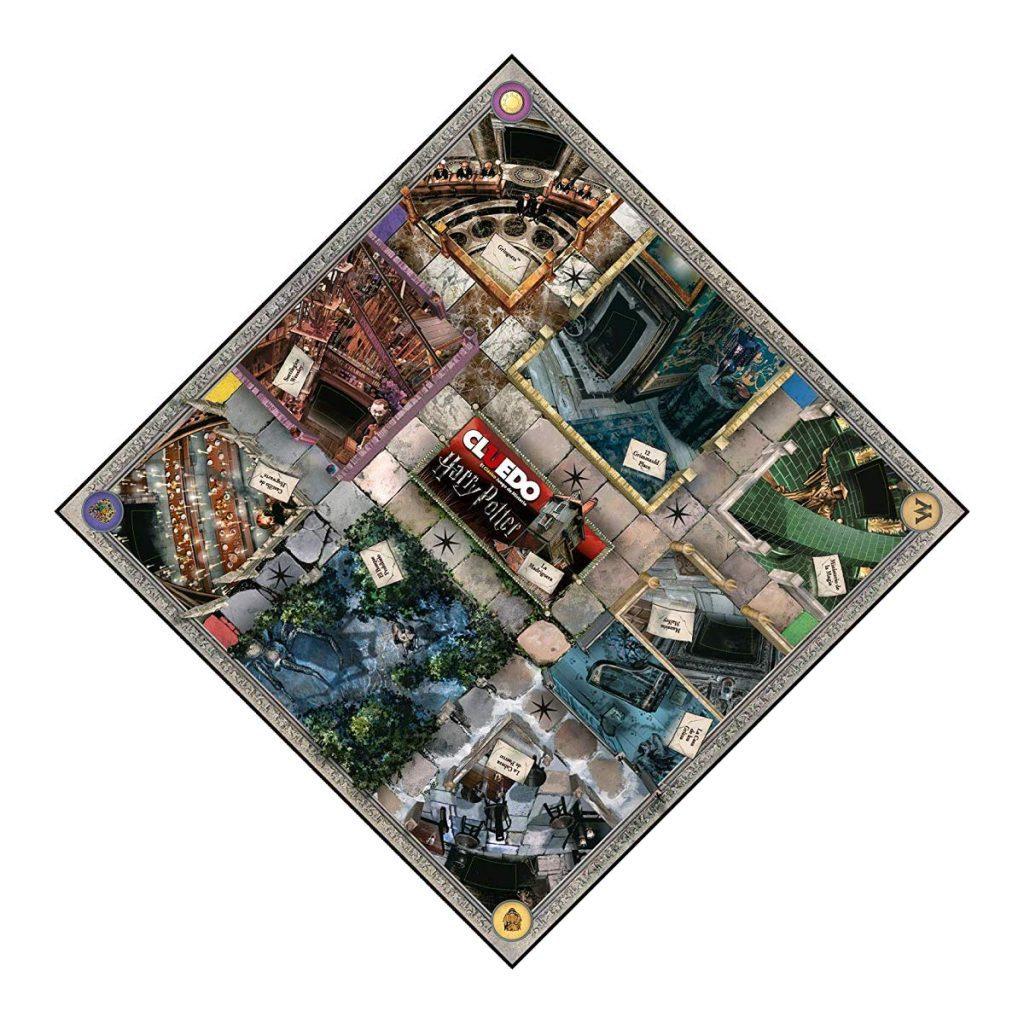 Juegos de Mesa de Harry Potter - Juego de Cluedo de harry tablero