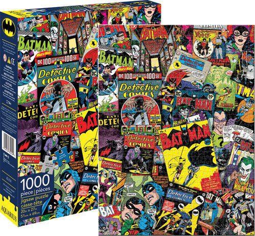 Puzzles de DC - Collage Batman de 1000 piezas