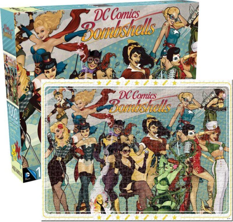 Puzzles de DC - DC Girls