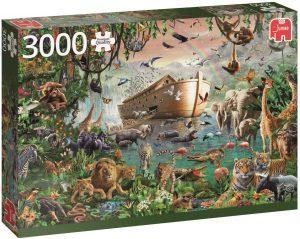 Puzzle de animales - El Arca de Noé - 3000 piezas