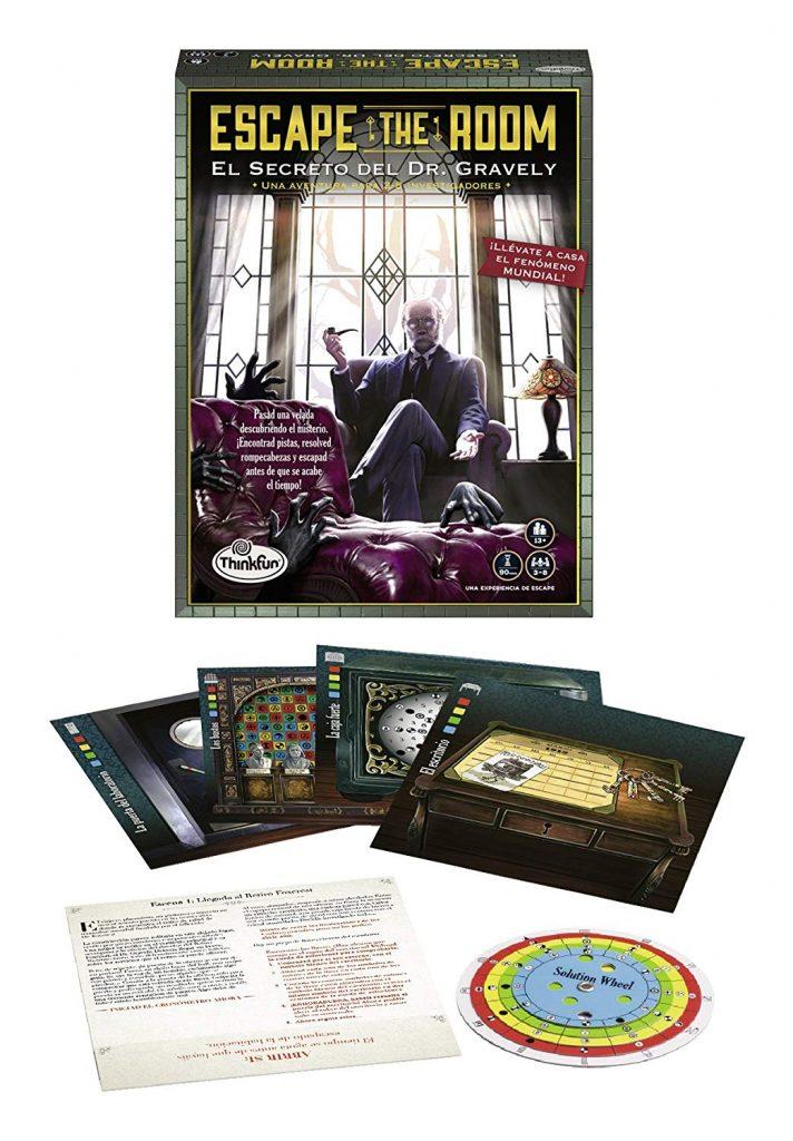 Juegos de mesa de escape - Escape Room - El secreto de Dr Gravely
