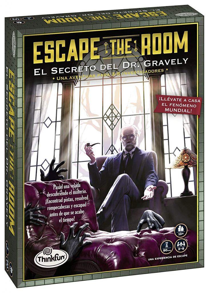 Juegos de mesa de escape - Escape Room - El secreto de Mr