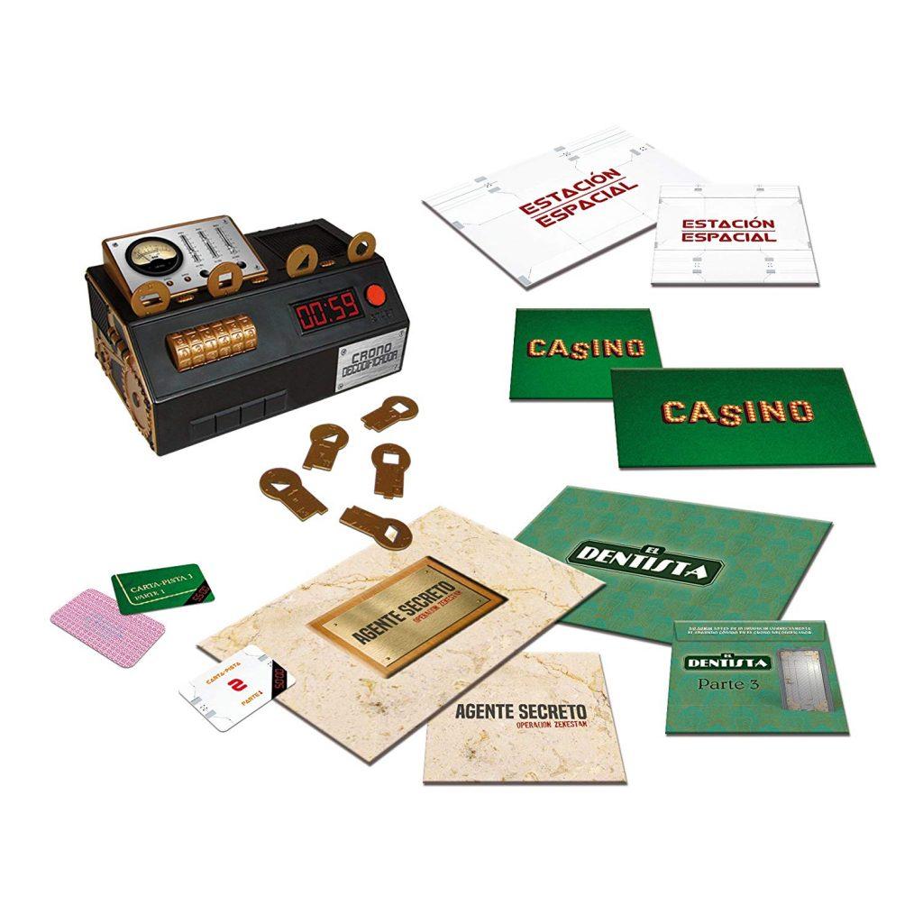 Juegos de mesa de escape - Escape Room - the game 2 tablero