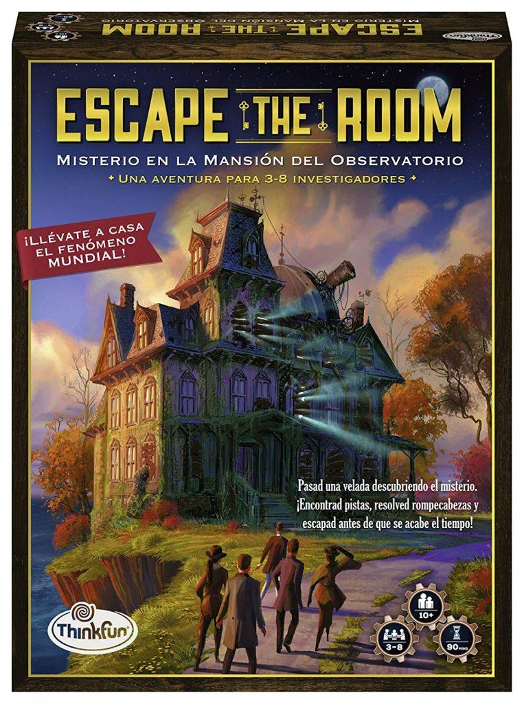 Juegos de mesa de Escape the Room - Misterio Observatorio