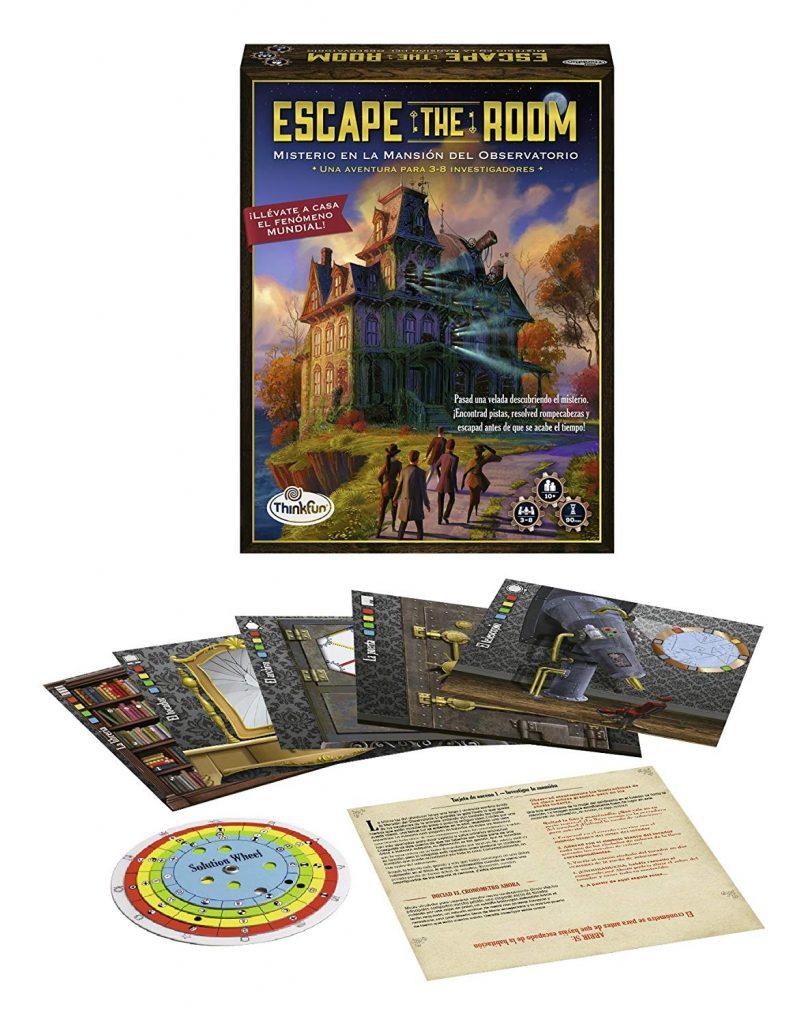 Juegos de mesa de Escape the room - misterio observatorio 2