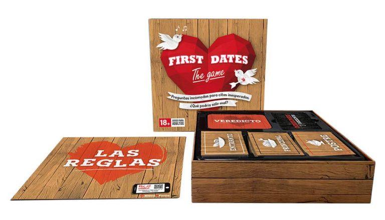 Juegos de mesa de televisión - juego de First Dates tablero