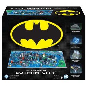 Puzzles en 4D - Puzzles en 4 dimensiones - Puzzle en 4D de Gotham de Batman