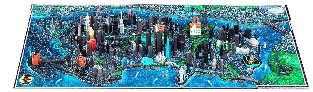 Puzzles en 4D - Puzzles en 4 dimensiones - Puzzle en 4D de Gotham en 4D