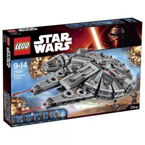Sets de Lego de construcción de Star Wars - Lego Halcon Milenario 2