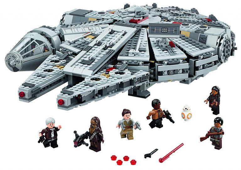 Sets de Lego de construcción de Star Wars - lego de la guerra de las galaxias - Lego Halcon milenario