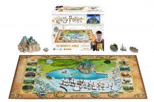 Puzzles en 4D - Puzzles en 4 dimensiones - Puzzle de Harry Potter en 4D