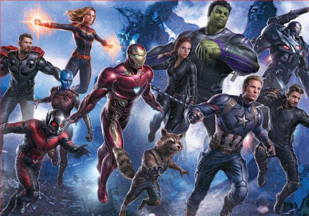 Puzzles de Marvel - Puzzle de superheroes de Marvel