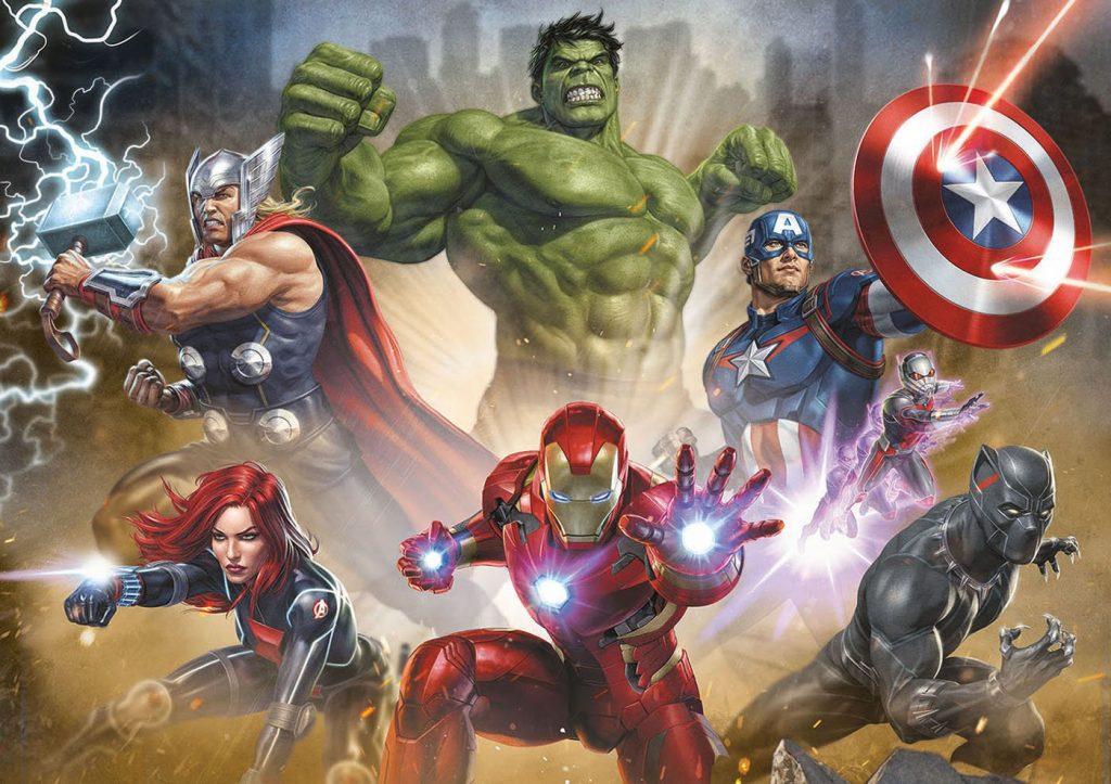 Puzzles de Marvel - Puzzle de superheroes de los vengadores