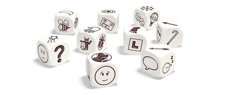 Juego de mesa de bolsillo y de viajes - juego de Historias tablero
