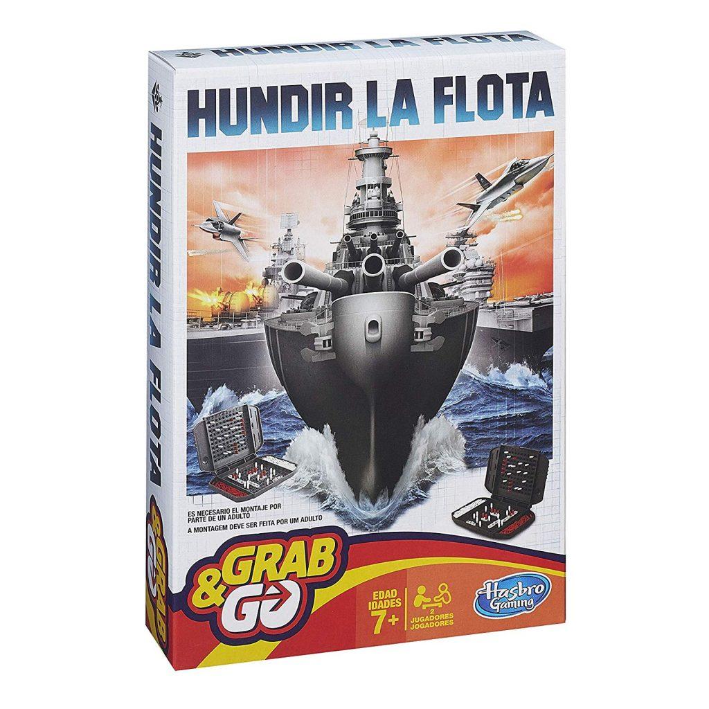 Juego de mesa de bolsillo y de viajes - juego de Hundir la flota