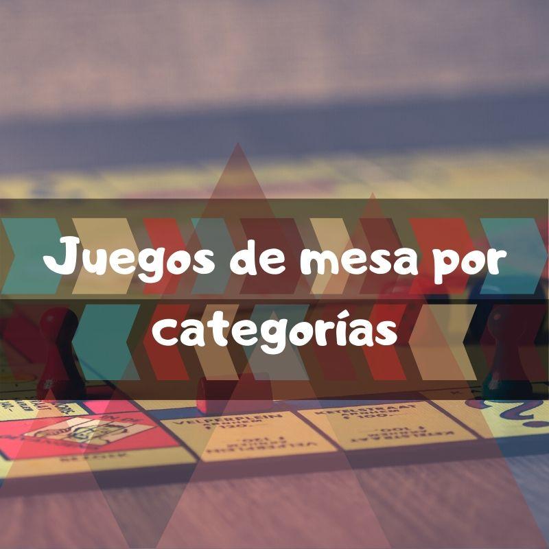 Juegos de mesa por categorías