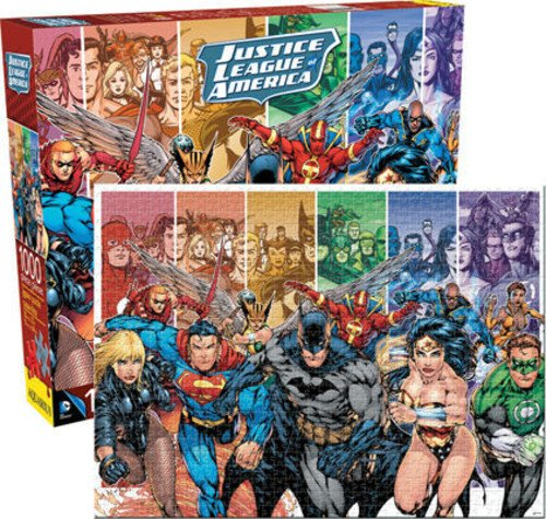 Puzzles de DC - La Liga de la Justicia
