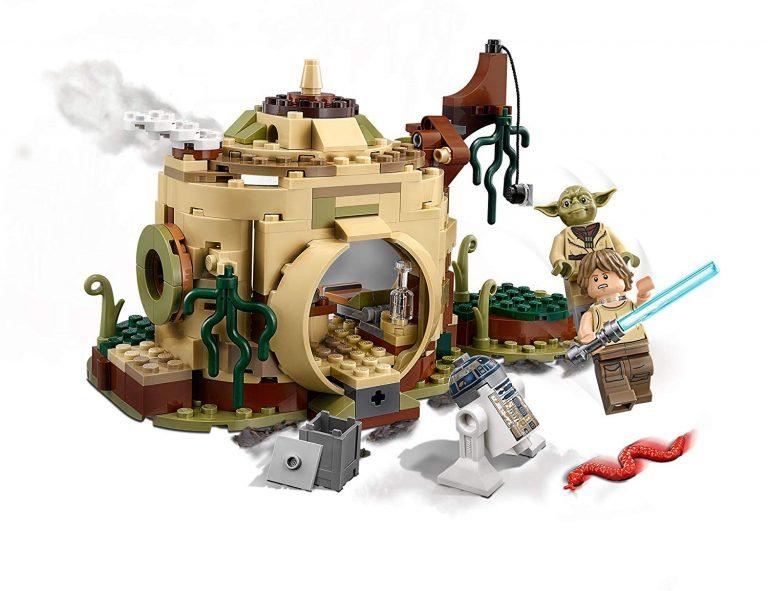 Sets de Lego de construcción de Star Wars - Lego La cabaña de Yoda