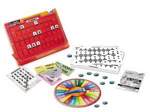 Juegos de mesa de preguntas y respuestas - La ruleta de la suerte tablero