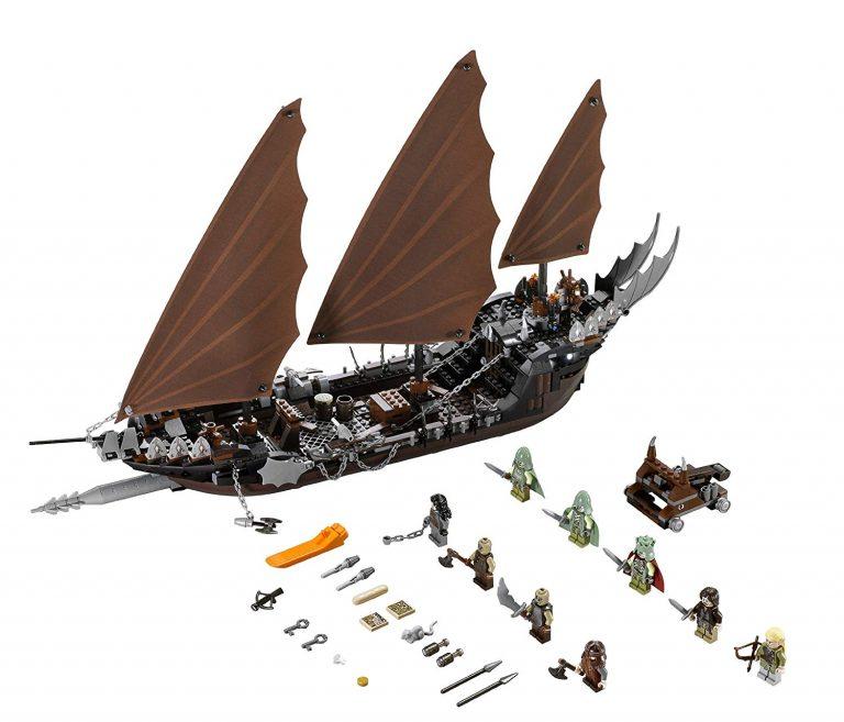 Sets de Lego de construcción del señor de los anillos - Lego Barco 2