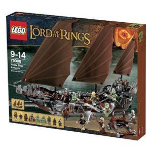 Sets de Lego de construcción del señor de los anillos - Lego Barco de los muertos