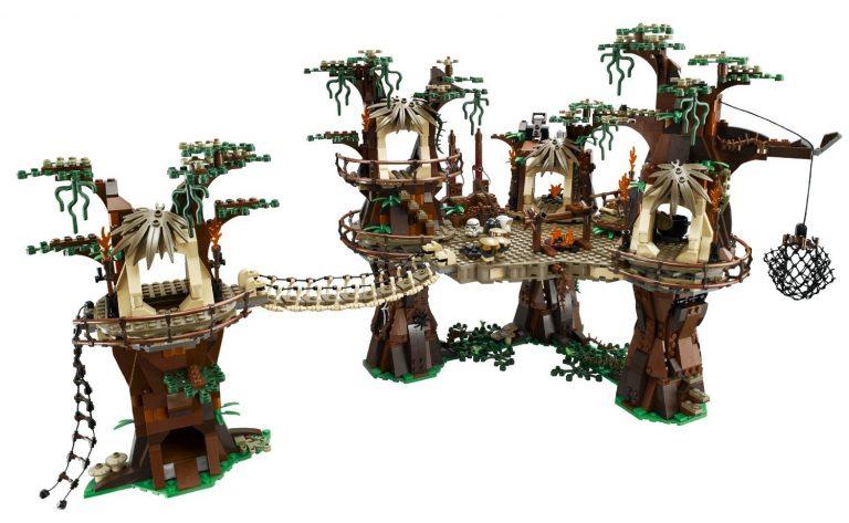 Sets de Lego de construcción de Star Wars - Lego Ewok village