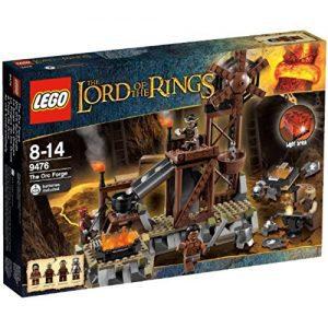 Sets de Lego de construcción del señor de los anillos - Lego la forja de los orcos