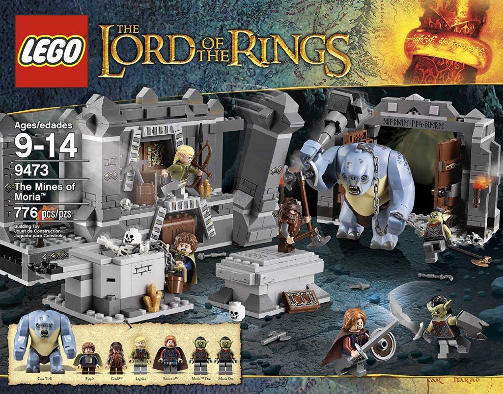 Sets de Lego de construcción del señor de los anillos - Lego las minas de Moria