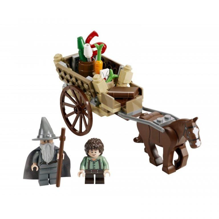 Sets de Lego de construcción del señor de los anillos - Lego Llegada gandalf