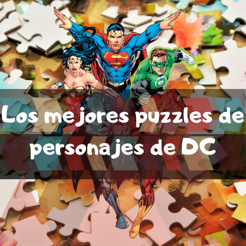 Los mejores puzzles de personajes de DC