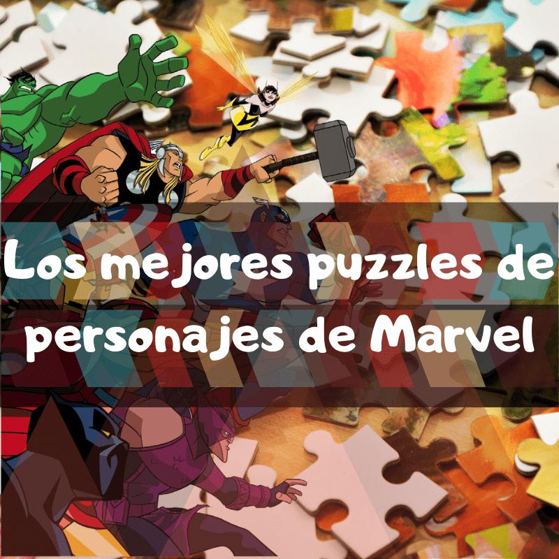 Los mejores puzzles de personajes de Marvel