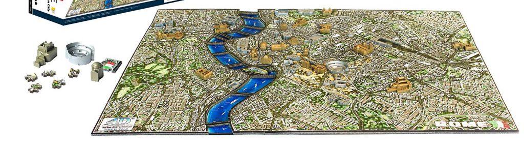 Puzzles en 4D - Puzzles en 4 dimensiones - Puzzle en 4D de Roma