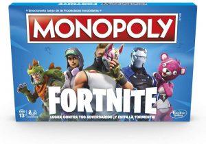 Juegos de mesa de versiones temáticas del Monopoly - Monopoly Fornite