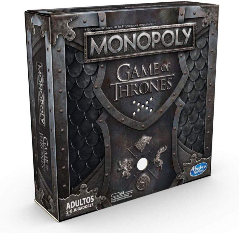 Juegos de mesa de versiones del Monopoly - Monopoly Juego de Tronos