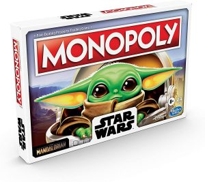 Monopoly de Baby Yoda - Juegos de mesa de Monopoly - Los mejores juegos de mesa del Monopoly
