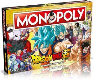 Monopoly de Dragon Ball Z - Juegos de mesa de Monopoly - Los mejores juegos de mesa del Monopoly