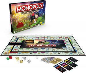 Monopoly de La Partida más larga - Juegos de mesa de Monopoly - Los mejores juegos de mesa del Monopoly