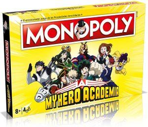 Monopoly de My Hero Academia - Juegos de mesa de Monopoly - Los mejores juegos de mesa del Monopoly