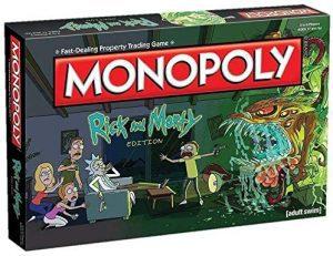 Monopoly de Rick y Morty - Juegos de mesa de Monopoly temáticos - Los mejores juegos de mesa de Monopoly