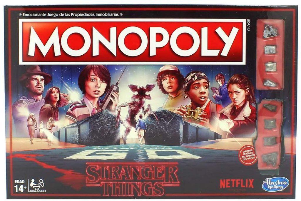 Juegos de mesa de versiones temáticas del Monopoly - Monopoly de Stranger Things