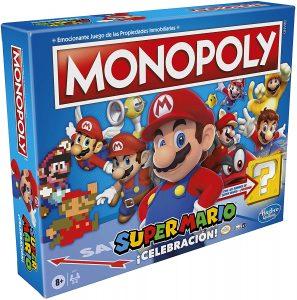 Monopoly de Super Mario - Juegos de mesa de Monopoly - Los mejores juegos de mesa del Monopoly