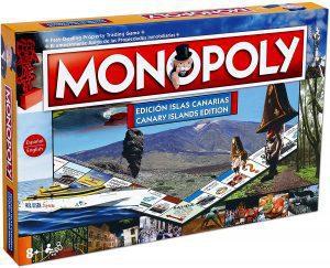 Monopoly de islas Canarias - Juegos de mesa de Monopoly - Los mejores juegos de mesa del Monopoly
