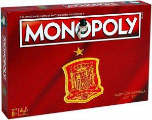Monopoly de la Selección Española - Juegos de mesa de Monopoly - Los mejores juegos de mesa del Monopoly